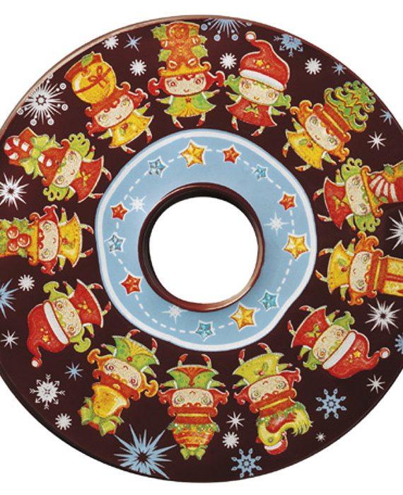 """Molde de plástico multi porção """"CD"""""""
