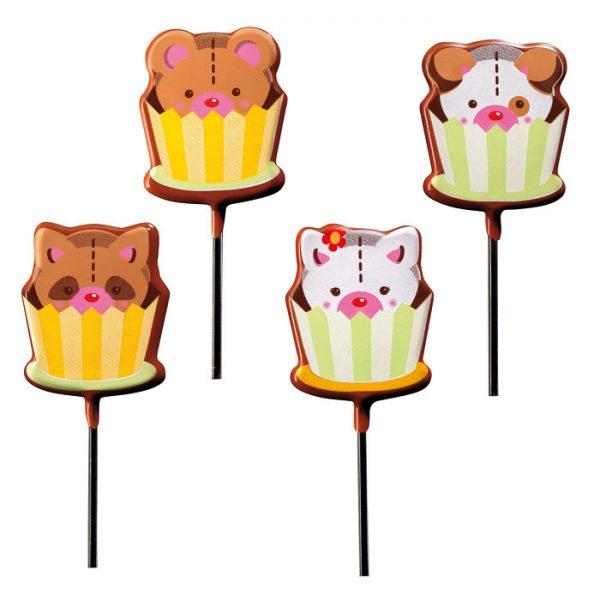 Blister - lollipop cães e gatinhos