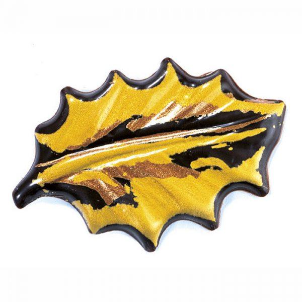 Blister - folha azevinho dourada