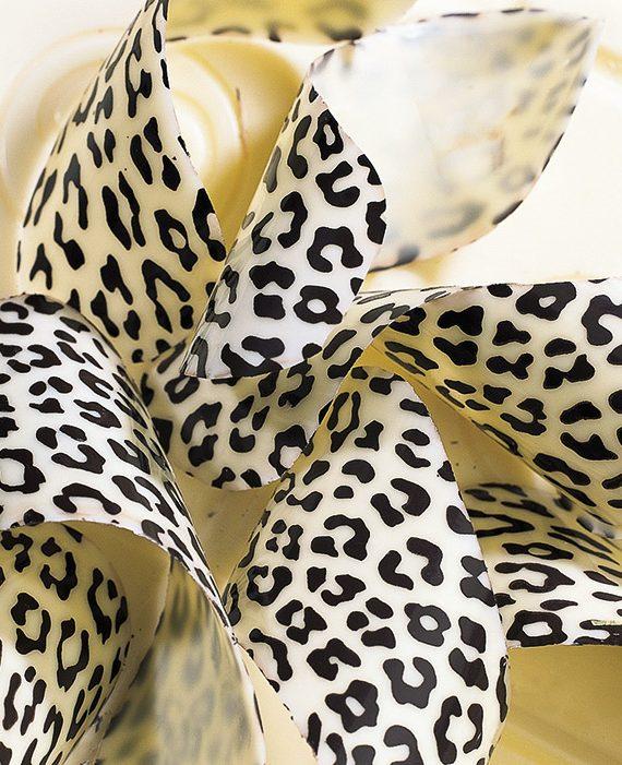 "Transfer - 40 x 25 cm - ""leopardo"""