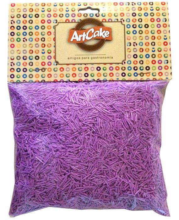Flocos de papel de arroz roxo