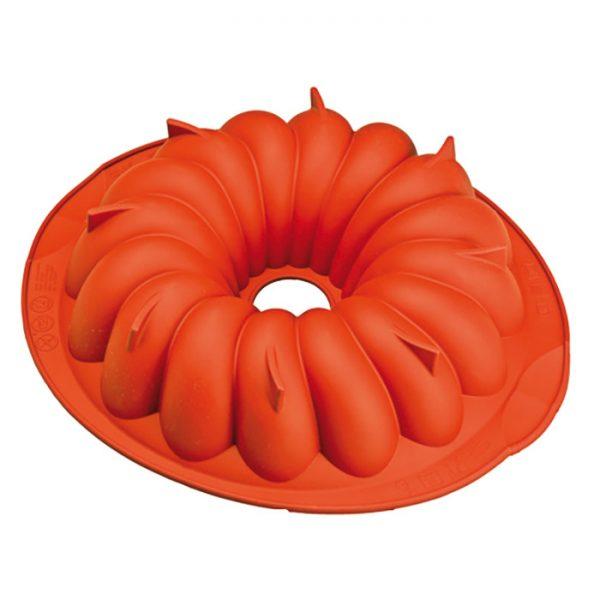 Forma de silicone mono porção savarin