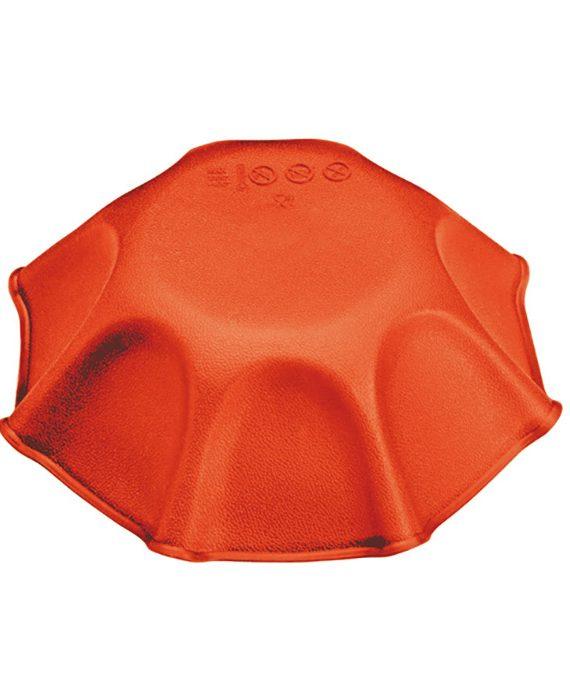 Forma de silicone mono porção torta