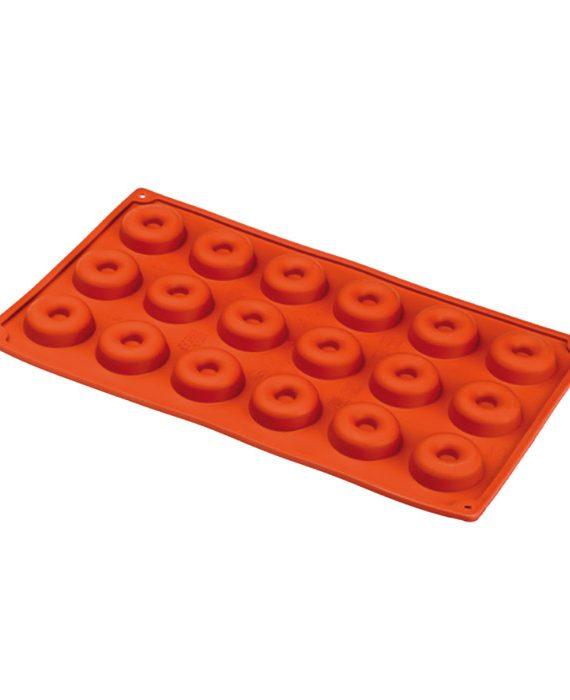 Forma de silicone multi porção savarin