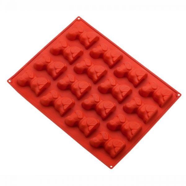 Forma de silicone multi porção cachorros