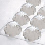 Molde de plástico multi porção rainha capucine