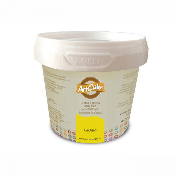 Manteiga de cacau amarela