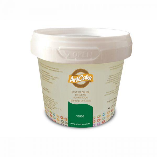 Manteiga de cacau verde