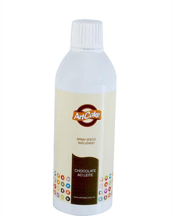 Spray efeito aveludado chocolate ao leite