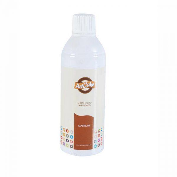 Spray efeito aveludado marrom
