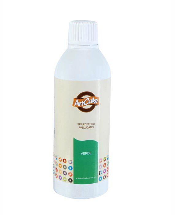 Spray efeito aveludado verde