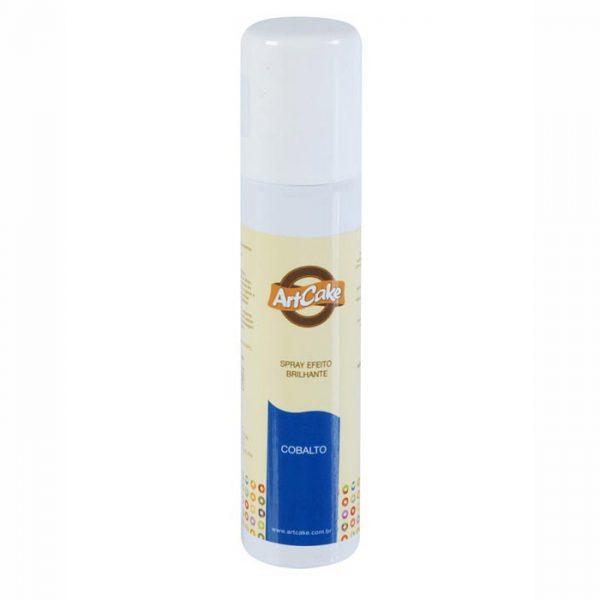 Spray efeito brilhante cobalto