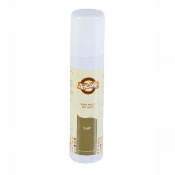 Spray efeito brilhante - ouro