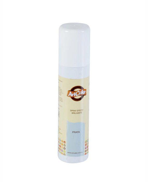 Spray efeito brilhante - prata