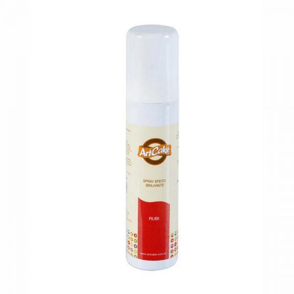Spray efeito brilhante rubi