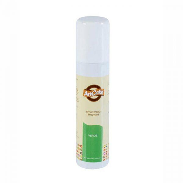 Spray efeito brilhante verde