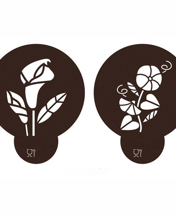 Stencil Flores 2
