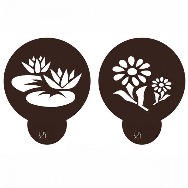 Stencil Flores 3
