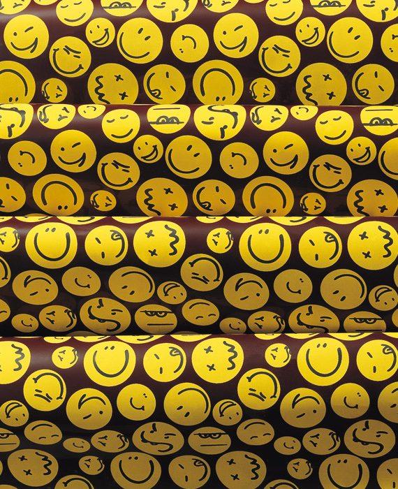 "Transfer - 40 x 25 cm - ""sorrisos"""